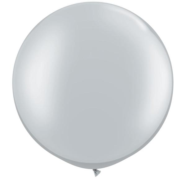 Riesenballon Silber