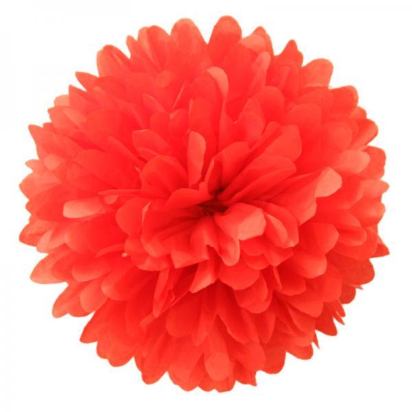 PomPom Cherry Red