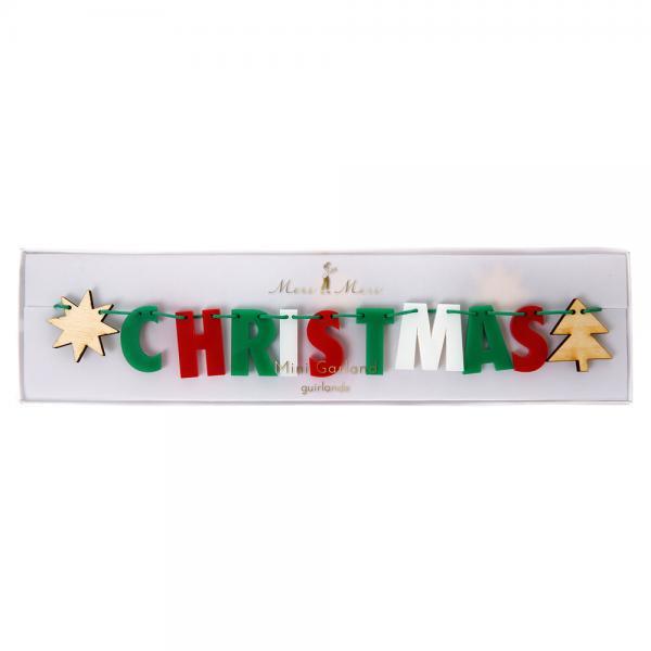 Merry X Mas Girlande