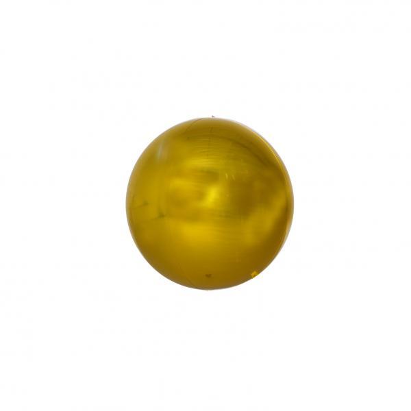 Kugelballon Orbz Folie Gold
