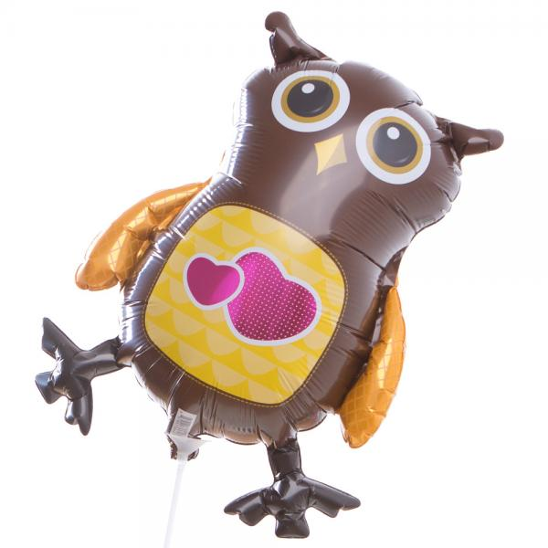 Kleine Eule Folienballon