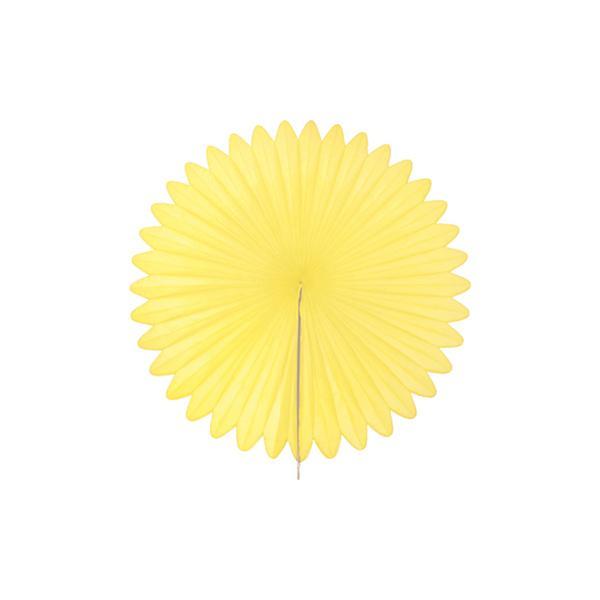 Fächer Gelb
