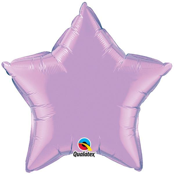 Ballon Stern lila