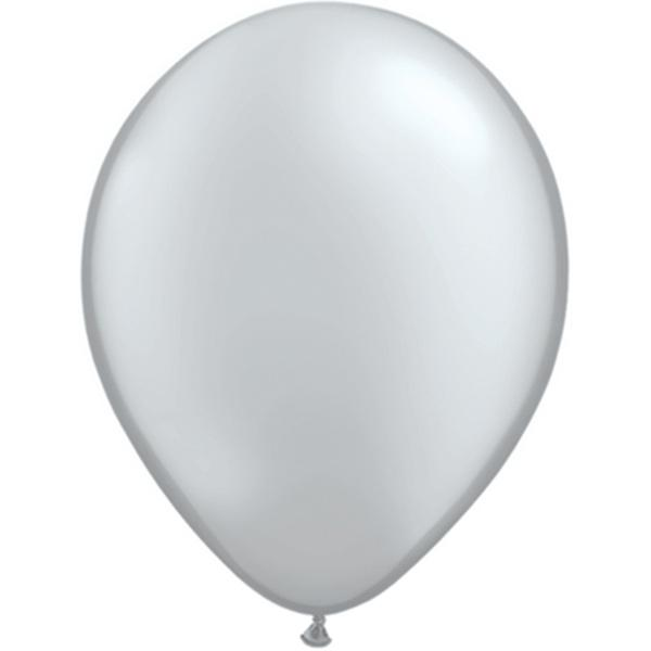 Luftballon Silber