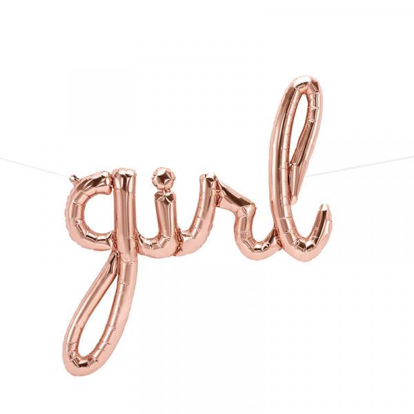 Girl Script Ballon