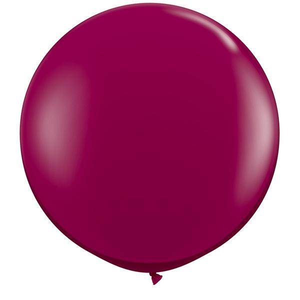Riesenballon Burgund