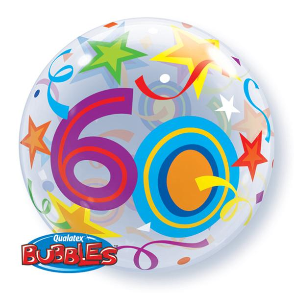 Zahlenballon 60