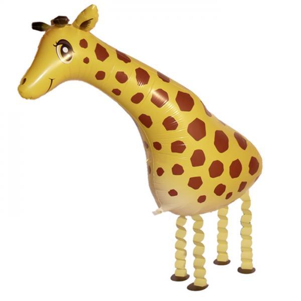 Giraffe Folienballon Airwalker