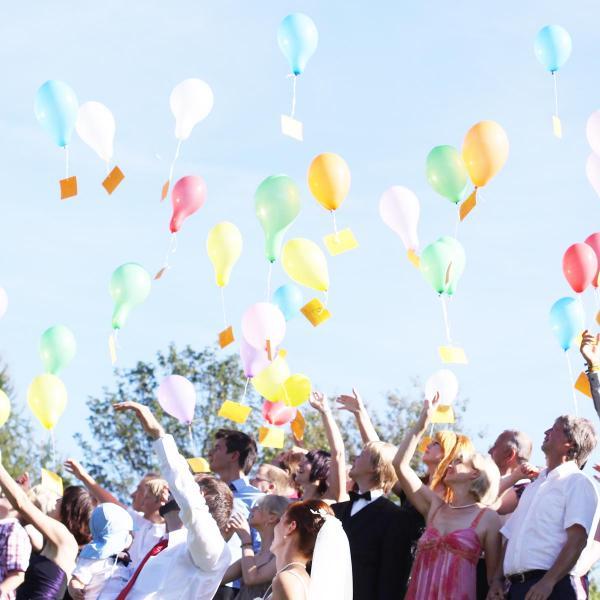Ballon Set Helium 200