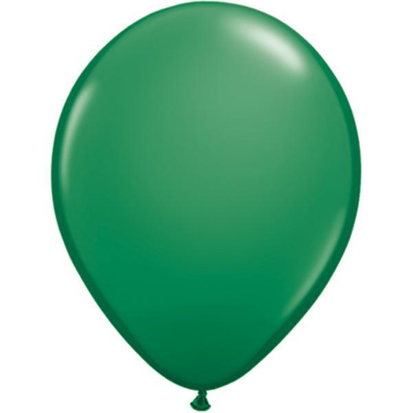Luftballon Dunkelgrün