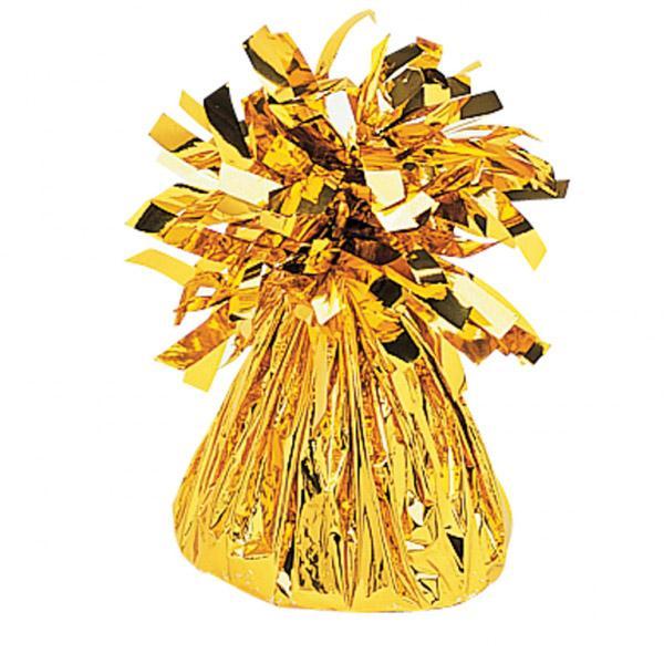 Ballongewicht Folie Gold