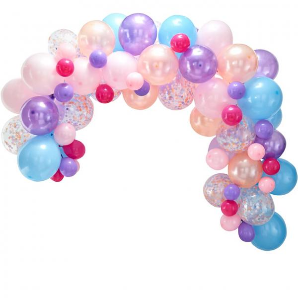 Ballon Girlande Set DIY Pastel
