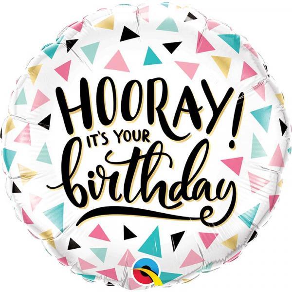 Hooray Its your Birthday Folienballon