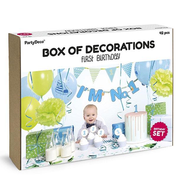 Party Box erster Geburtstag