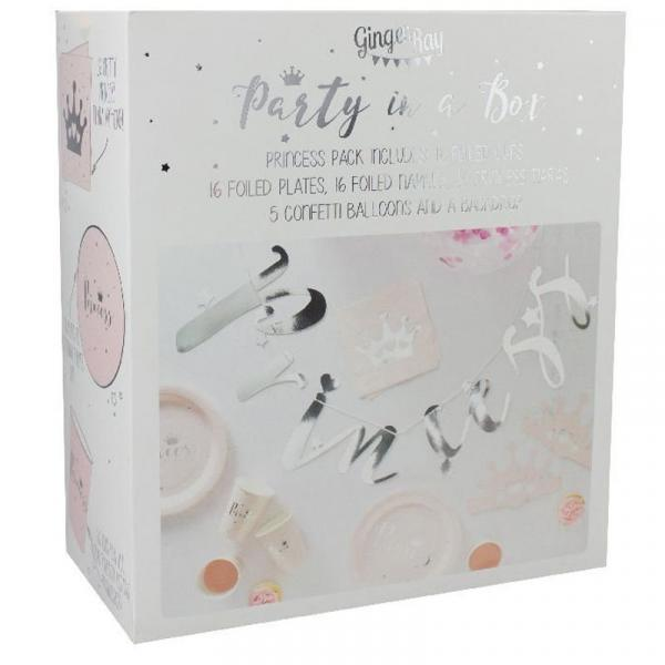 Party in a Box SET Prinzessin