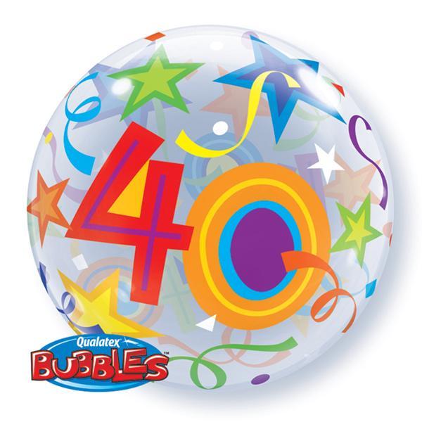Zahlenballon 40