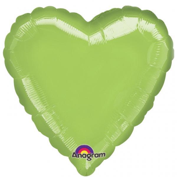 Folienballon Herz Hellgrün