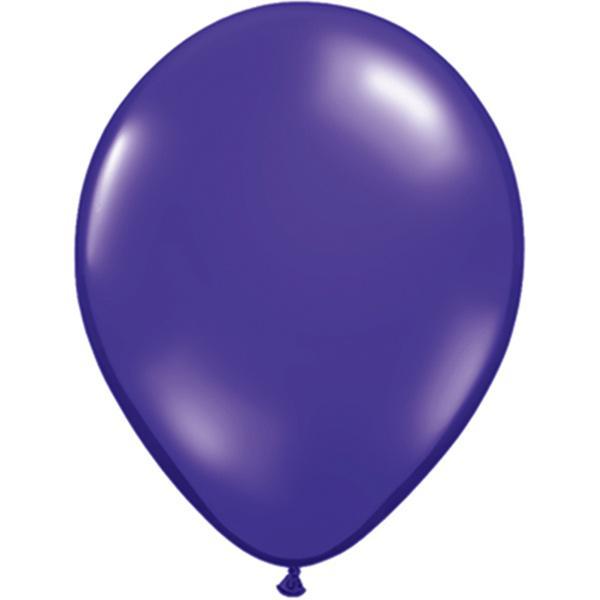 Luftballon violett kristall