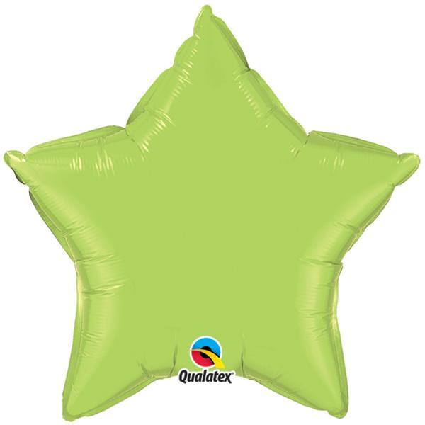 Sternballon hellgrün