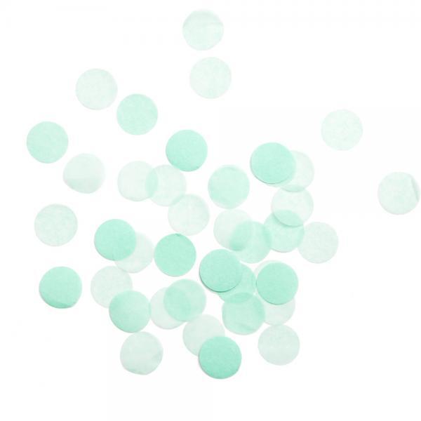 Riesenkonfetti Mintgrün
