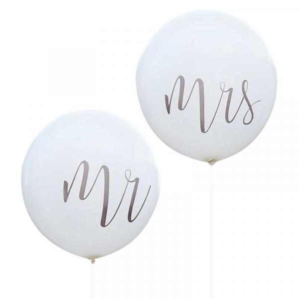 Mrs und Mr Riesenballons