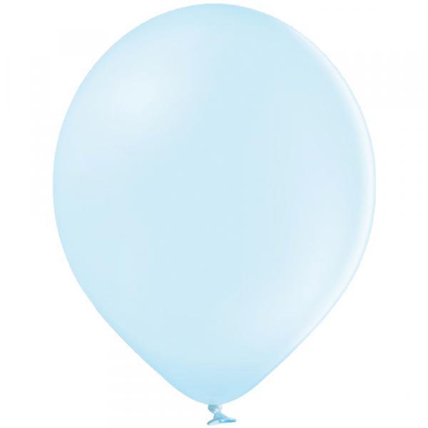 Luftballon Pastell Eisblau